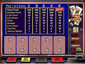play free 100 play video poker