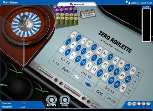 Betfair roulette