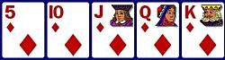 5d, 10d, Jd, Qd, Kd