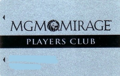 MGM / Mirage club card