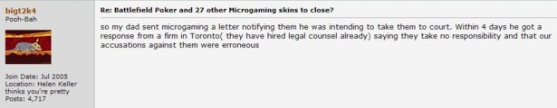 MG denies responsibility