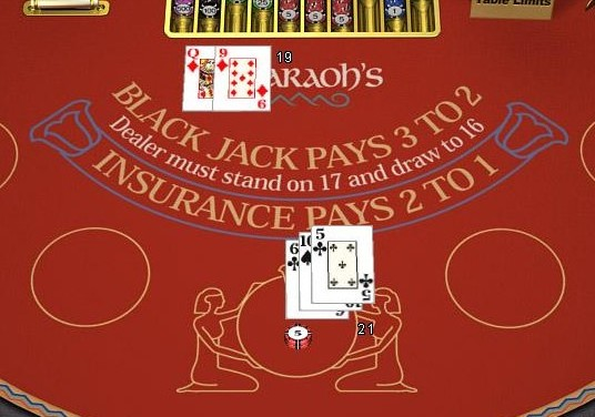 Boss Media single deck blackjack