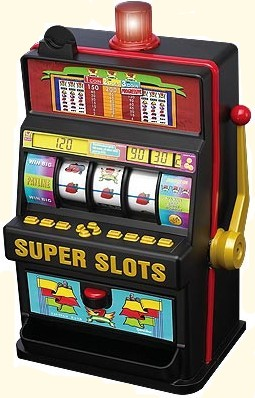 bank of slot machines