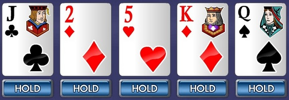 Three unsuited high cards